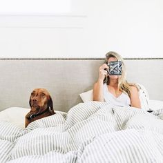 Our goal always - stay in bed for as long as possible.