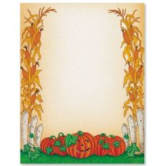 Fall corn n pumpkins by ideaart Computer Paper, Armor Of God, Hallows Eve, Halloween Themes, Clip Art, Printables, Tapestry, Lettering, Fall