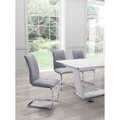 Anjou Dining Chair Gray