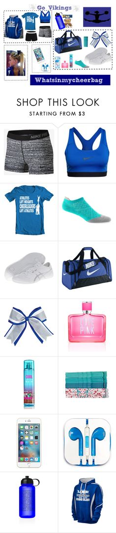 """What's in my Cheer Bag!!"" by allyrobertson on Polyvore"