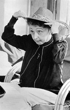 Edith Piaf by Hugues Vassal, 1963