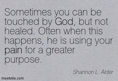 #Purpose through the #Pain