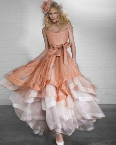 #VivienneWestwood  BRIDAL GOWN OR NOT, I'D D E F I N I T E L Y WEAR IT SAY, TO A COCKTAIL, OR A TEA PARTY; HELL, I'D  WEAR IT RUNNING ERRANDS EVEN!!! lol