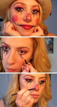 Verrücktes Make-up!