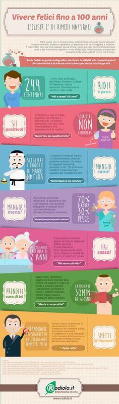 Vivere più a lungo: ecco alcuni consigli sempre validi su http://www.angolodonne.it/10953/vivere-a-lungo/