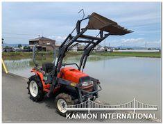UsedJapaneseTractors.jp : KUBOTA A175 4WD W/FL Kubota, Outdoor Power Equipment, Tractor, Garden Tools