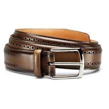 Manistee - Men's Premium Leather Dress Belts by Allen Edmonds Bourbon Calf Leather Belts, Leather Men, Allen Edmonds Belt, Touch Of Gray, Belted Dress, Men Dress, Dress Belts, Man Shop, Mens Fashion