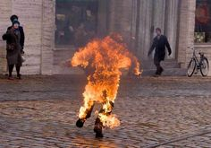 Agnieszka Holland's Moving New HBO Miniseries 'Burning Bush' Depicts a World Aflame Bad Bay, Prague Spring, Ghost Videos, Burning Bush, Burning Man, Central And Eastern Europe, National Review, Visual Memory, All The Things Meme