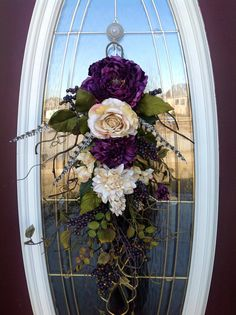 Spring Wreath Summer Wreath Mother's Day by AnExtraordinaryGift, $75.00