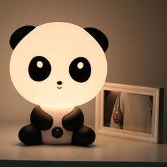 Luminária de Panda e Coelho ♥ - Sweet Rainbow Store