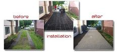 EcoGrid Gravel Driveway Solution - Environmental Asphalt & Paving Alternative