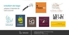 Création de logo adapté à l'identité de votre activité Fábio de Sá - Design & Graphisme #fabiodesadesign #graphisme