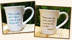Motivation in a mug! what a great way to recharge, just add your favorite beverage ^_^