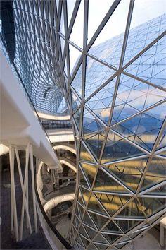 MAB ZEIL multifunctional center, Frankfurt, Germany by Studio Fuksas Architects