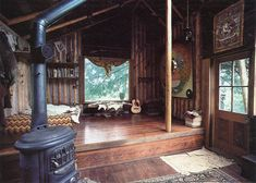 looks like a really fancy treehouse!