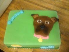 Puppppy!  #puppy #dog #custom #cake