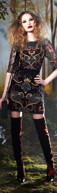 Bohemian Style| Serafini Amelia| Boho Styling-Alice and Olivia | The House of Beccaria~