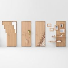 Nendo's seven door concepts include designs for wheelchair users and children