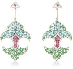 Hanut Singh Fleur De Lis Earrings
