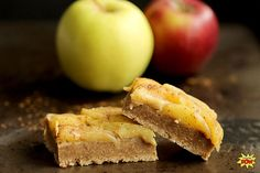 Gluten-Free Apple Pie Protein Bars - Bodybuilding.com