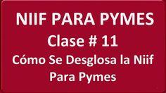 570. Cómo Se Desglosa la Niif Para Pymes Clase # 11