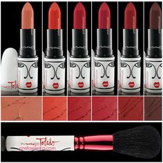 #ShareIG #MACToledo @toledox2 ❤️ #limitededition ❤#️Lipstick $17.50: (Matte) • Oxblood - Light peachy nude • Barbecue - Vivid orange red • Tenor Voice - True classic red • Victoriana - Mid tone pink red • Opera - Drak red • Sin - Deep blood red ❤️ 129 Brush $38.50: Powder / Blush Brush (Short handle, rounded shape ❤️ *** Available Feb 5th MAC online & Stores only *** (Date subject to change) ❤️ For more info & Pix please visit our website TRENDMOOD.COM ✌️❤️ #Trendmood #maccosmetics Edit ... Mac Collection, Blush Brush, Mac Makeup, Oxblood, Mac Cosmetics, Lipstick, Make Up, Good Things, Blush