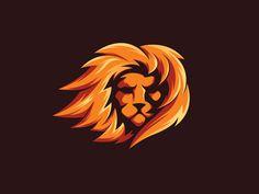 Logo Discover Head lion Head lion by axel art Leon Logo, Africa Silhouette, Beard Logo, Zoo Art, Lion Head Tattoos, Eagle Pictures, Lion Illustration, Lion Design, Game Logo Design