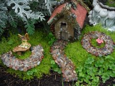 Miniature Fairy Stone Pathway by TheMistyHollowPixie on Etsy https://www.etsy.com/listing/202272588/miniature-fairy-stone-pathway