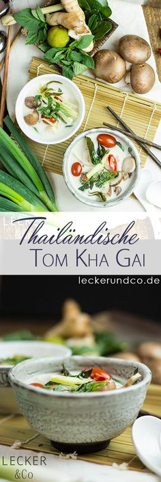 Tom Kha Gai | Thailändische Kokosmilchsuppe