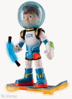 "Disney has unveiled a new series of toys based on Disney Junior's ""Miles from Tomorrowland."""