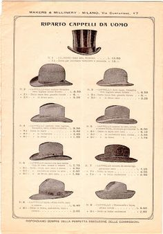 Makers & Millinery catalog, March 1904 via The Paper Collector