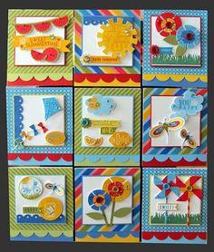 bright card ideas