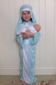 Me and my shadow: Jesus, Mary & Joseph...Its the School Nativity