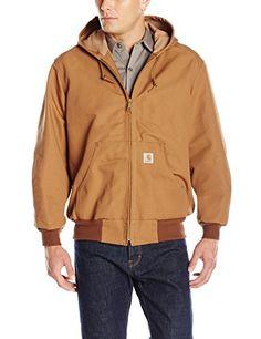 Hooded front-zip jacket with waffle-knit thermal lining Split kangaroo pocket at front Drawstring hood