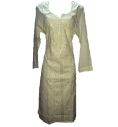 white chikan kurti #indowesternkurti #chikan #fashion #kurti