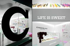 Cioccolato brand identity & interior by Savvy Studio store design branding