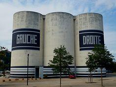 Gauche / Droite - Est / Ouest ?Lyon- Confluence - La sucrière
