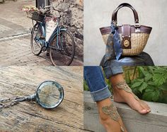 Blue and Brown April by Tatin on Etsy--Pinned with TreasuryPin.com #etsy #etsytreasury #etsyshopping #gifts