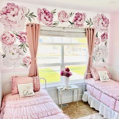 What a picture perfect scene and I don't just mean the view out the window. 😏 📷: @country_rhoades_living #beddys #zipperbedding #zipyourbed #girlbedding #girlbed #beddysbeds #girlyroom #girlsroomdecor #girlsroom #girlsroominspo #girlsroominspiration #girlsroomdecoration #girlsroomstyling #girlystuff #bedding #beddings #homedecor #homedesign Bedroom Wall Designs, Bedroom Ideas, Floral Bedroom Decor, Beddys Bedding, Wedding Room Decorations, Zipper Bedding, Unicorn Room Decor, Girls Bedroom, Bedrooms