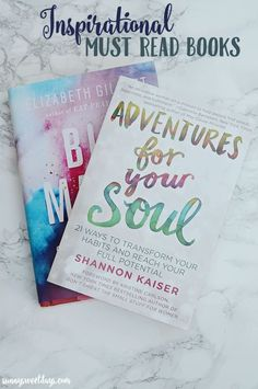 Add these must read motivational books to your to-read list! From blog and business tips to nonfiction, these books are inspiring!