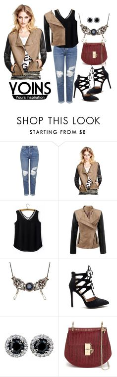 """""""Untitled #87"""" by ivana-j ❤ liked on Polyvore featuring мода, Topshop, Chloé и yoins"""