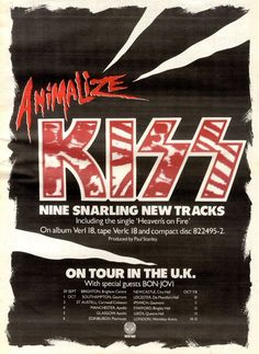KISS Promotional Ad