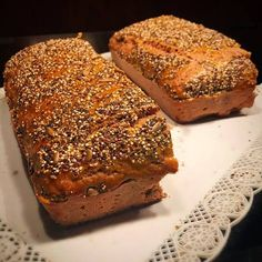 Bread Recipes, Vegan Recipes, Sin Gluten, Grilling Recipes, Banana Bread, Bakery, Food And Drink, Veggies, Cooking