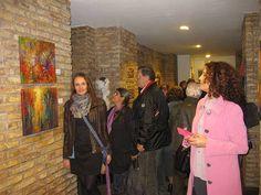 ...KRZYSZTOF ŁOZOWSKI...FINE ART PROFESSIONAL....paźdz 2015r ...Wystawa w Domiziano, Piazza Navona, Rzym