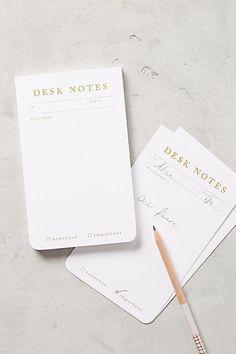 Anthropologie Jot It Down Notepad
