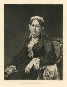 """""""Portrait of Mrs Adams,"""" Stephen Alonzo Schoff, after William Morris Hunt, 1880, etching, 7 1/2 x 6"""", Affordable Art. Published in 1880 by the American Art Review."""