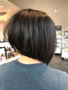 Asymmetrical Bob Haircut