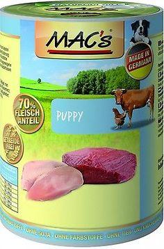 MACs Dog Puppy | 6x 400g Welpenfutter nass getreidefreisparen25.com , sparen25.de , sparen25.info
