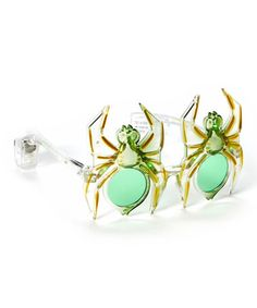 Look what I found on #zulily! Green Spider Light-Up Sunglasses - Set of Two #zulilyfinds