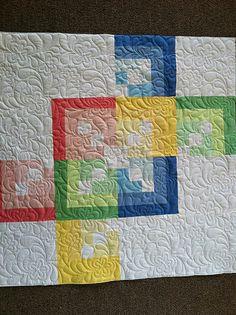 very cute modern baby quilt....from Jessica Jones photostream